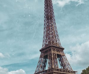 aesthetic, sky, and tour eiffel image