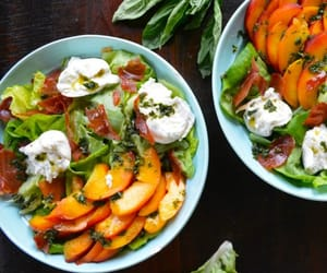 eat, food, and salad image