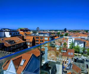 buildings, danish, and rooftop image