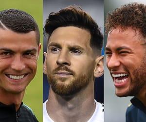 cristiano ronaldo, lionel messi, and neymar image