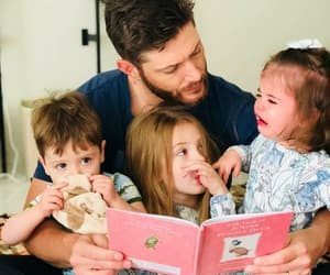 Jensen Ackles, baby, and dean winchester image