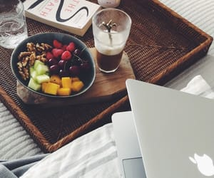 apple, bedroom, and cappuccino image