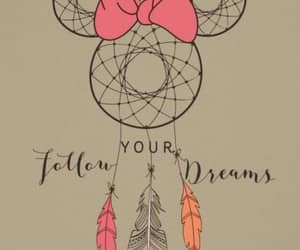 disney, minnie mouse, and dreamcatcher image