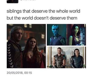 Marvel, nebula, and thor image