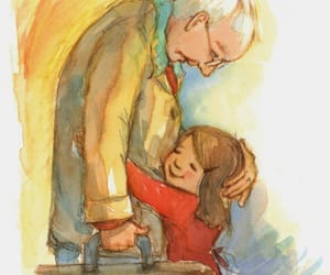 grandfather, love, and beautiful image