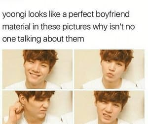bts, kpop, and suga image
