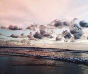air, beauty, and pink image