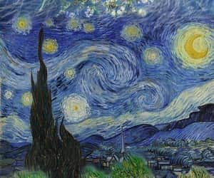 artist, artista, and starry night image