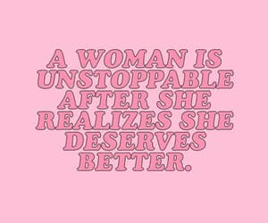 quotes, pink, and woman image