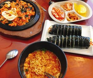 food, korean, and korean food image