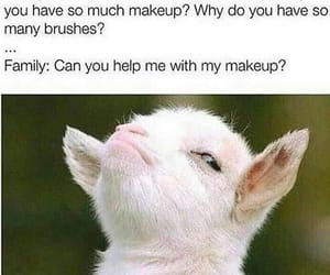 makeup and memes image