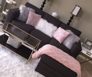 pink, home, and decor ideas image