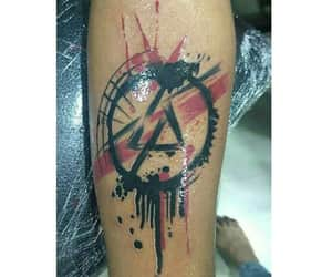 tattoo, linkin park, and mike shinoda image