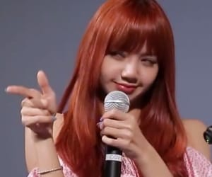 lisa, blackpink, and gif image