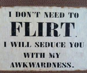 flirt, awkwardness, and love image