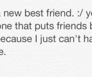 best friends, broken friendship, and ex best friend image