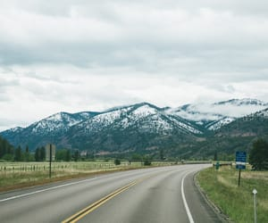 snow, beautiful mountains sky, and usa image