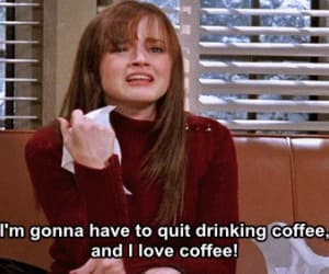 coffee, rory, and gilmore girls image