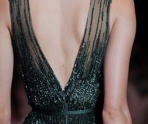 fashion, dress, and green image
