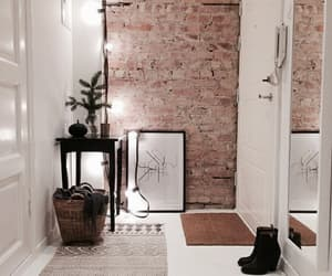home, interior, and light image