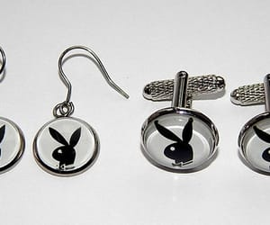etsy, rabbit jewelry, and playboy bunny logo image