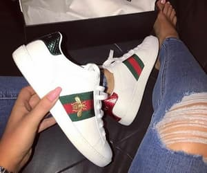 gucci, shoes, and basket image
