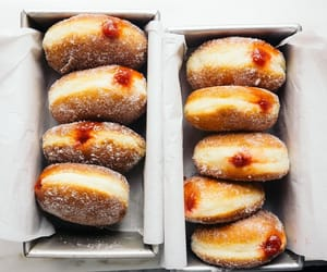 doughnuts, sweet, and food image