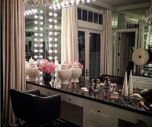 decor, beauty room, and glam decor image