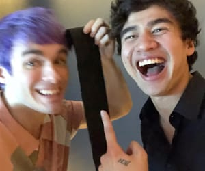 awsten, calum, and 5 seconds of summer image