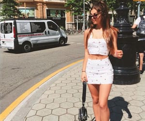 Barcelona, brunette, and fashion image
