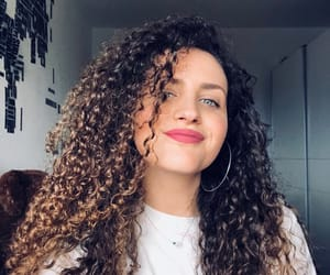 beautiful, curls, and goal image