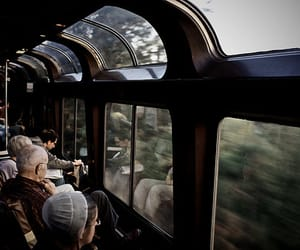 train, photography, and grunge image