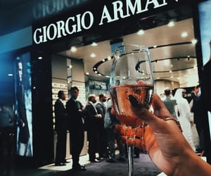 accessories, Armani, and chic image