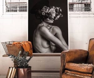 art, black and white, and bw image