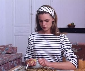 90s, outfit, and stripes image
