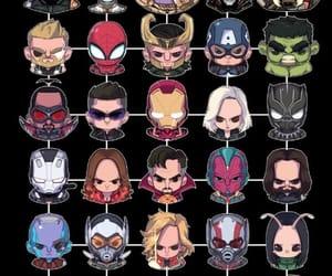 Avengers, iron man, and loki image