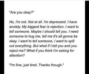 anxiety, depression, and sadness image