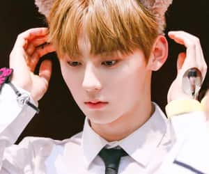 minhyun, fansign, and cute image