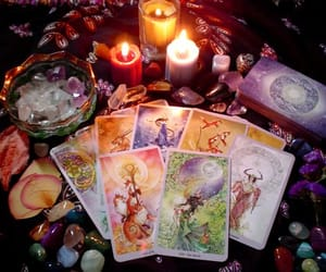 tarot, magic, and candles image