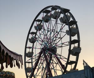 carnival and sunset image