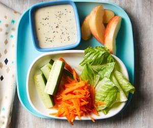 kids, recipe, and salad image
