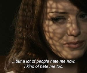 emma stone, easy a, and quotes image