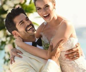 wedding, couple, and burak özcivit image