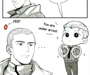 Connor, markus, and Hank image