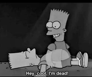 dead, cool, and simpsons image