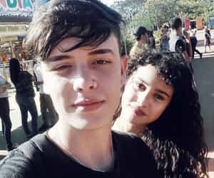 boy, girl, and youtuber image