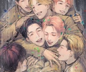 monsta x kpop fan art image