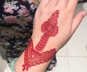 flower, tattoo, and hennaart image