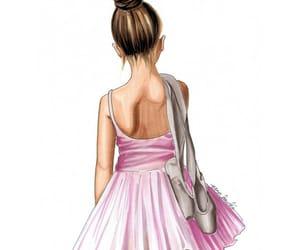 bailarina, bale, and menina image