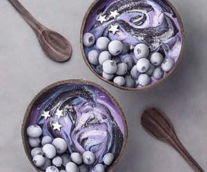 food, galaxy, and smoothie image